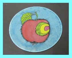 Maľovanie na hodvábne kruhy