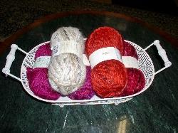 Pletenie šálov rukami II