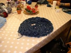 Pletenie šálov rukami